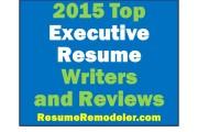 2015 best executive resume writers