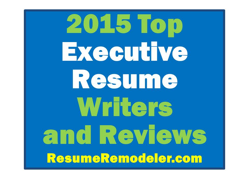 Executive resume writers