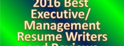 best-executive-resume-writer